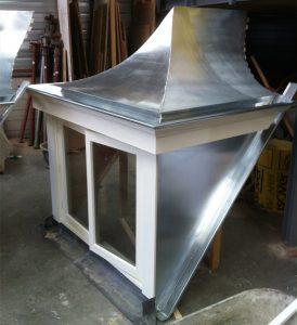 Monteren en bekleden van zinken dakkapel Zwaag