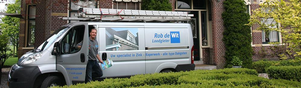 Rob de wit dakgootspecialist, uw specialist in zink - koperwerk - alle type dakgoten