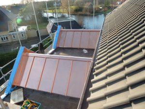 Vervangen koperen dakkapel Hoorn
